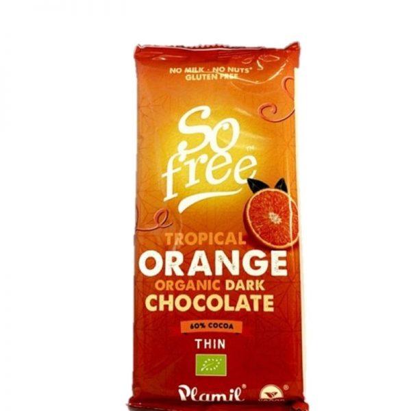 so free dark chocolate orange