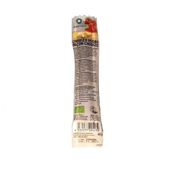 Veggyness Chorizo Vegan Spacebar