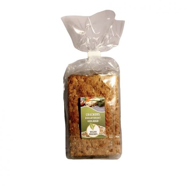 Vegan Friends Crackers Koolhydraat verlaagd