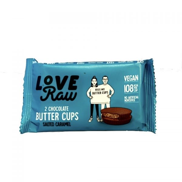 love raw butter cups salted caramel