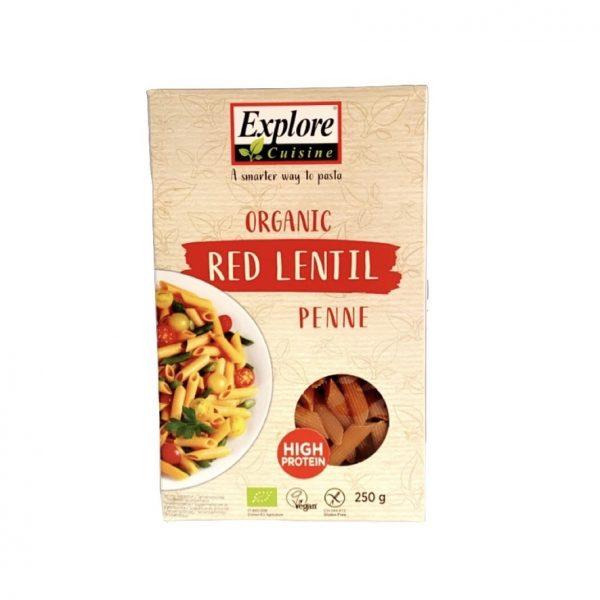 Explore Cuisine Organic Rode Linzen Penne