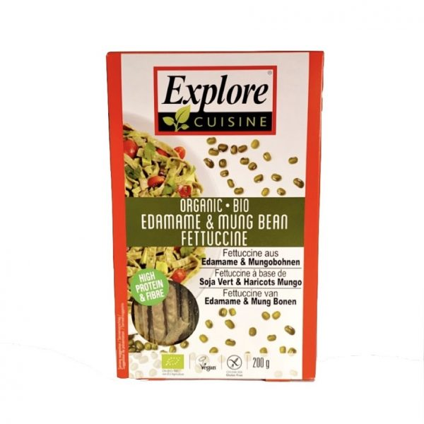 Explore Cuisine Proteïne- en Vezelrijke Edamame & Mungboon Fetticine