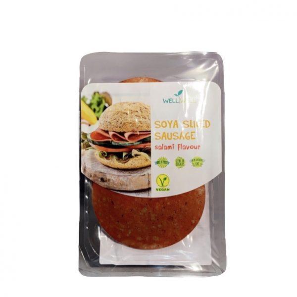 WellWell Soja Gesneden Worst Salami Smaak