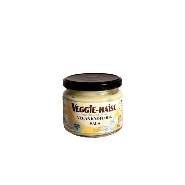 Veggie-Naise Vegan Knoflook Saus