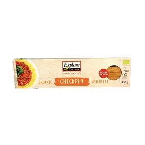 Explore Cuisine Kikkererwt Spaghetti Proteïnerijk