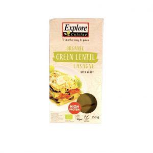 Explore Cuisine Proteïnerijke Groene Linzen Lasagne