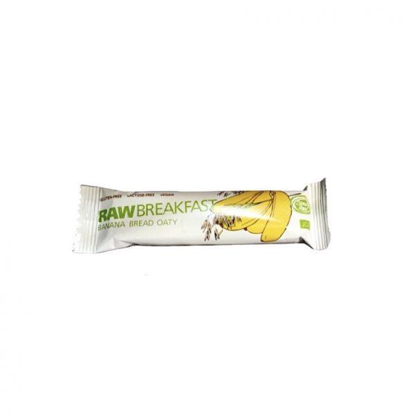 RAWbreakfast Banana Bread Oaty