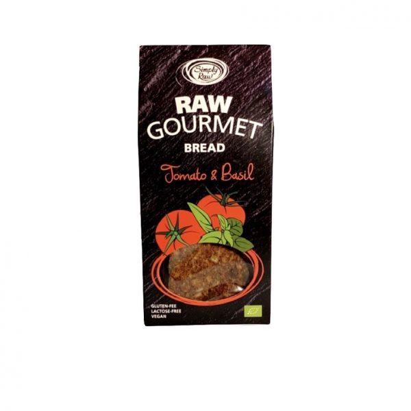 SimplyRaw Rauw Gourmet Brood Tomaat & Basilicum