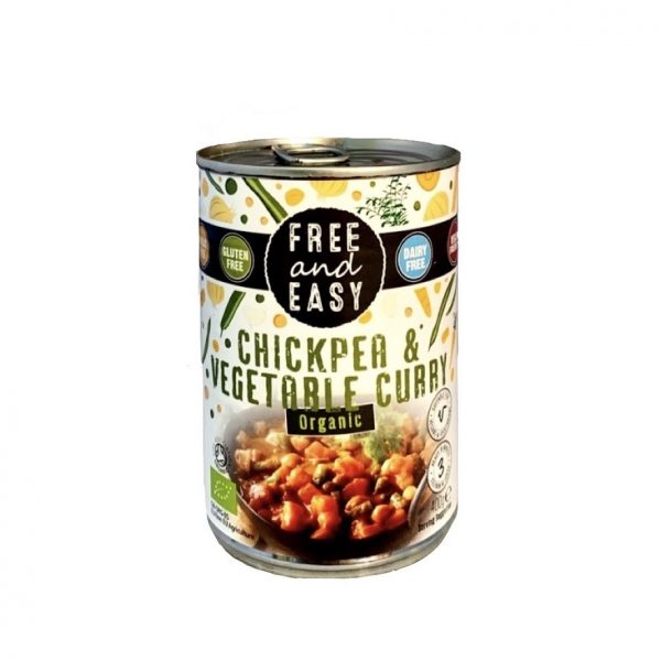 Free and Easy Groente & Kikkererwt Curry