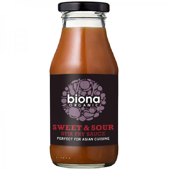 Biona Organic Zoetzure Roerbaksaus