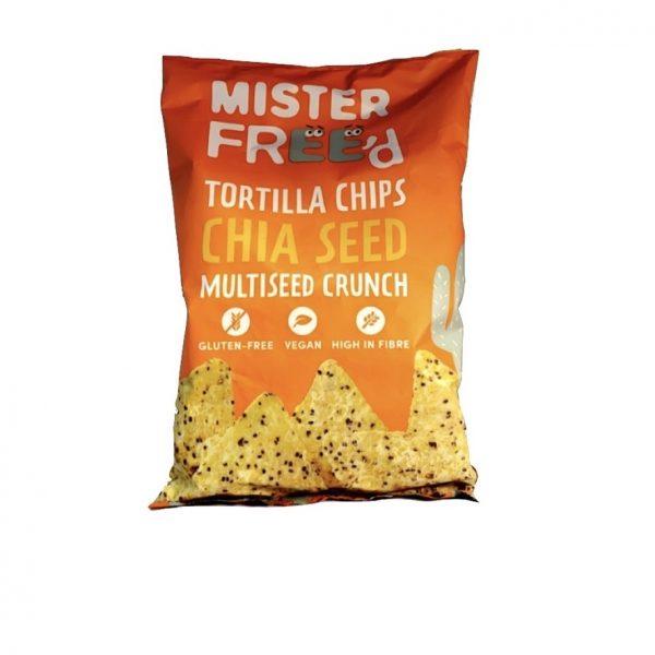 Mister Free'd Tortilla Chips Chia Zaad