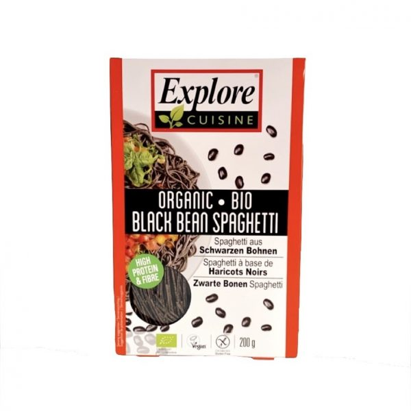 Explore Cuisine Bio Proteïne- en Vezelrijke Zwarte Bonen Spaghetti