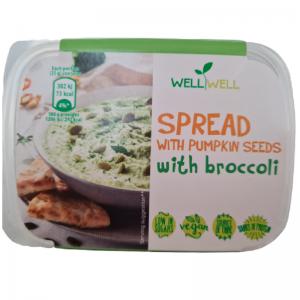 WellWell Pompoenpit met Broccoli spread