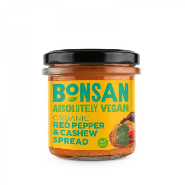 Bonsan Rode Paprika en Cashewnoten Spread