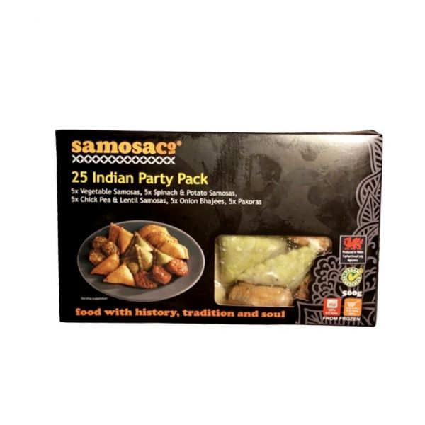 Samosaco Indian Party Pack